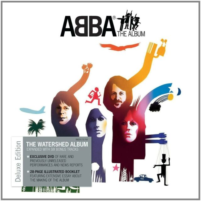 ABBA - THE ALBUM ( DELUXE EDITION JEWEL CASE)  CD + DVD  INTERNATIONAL POP  NEW+