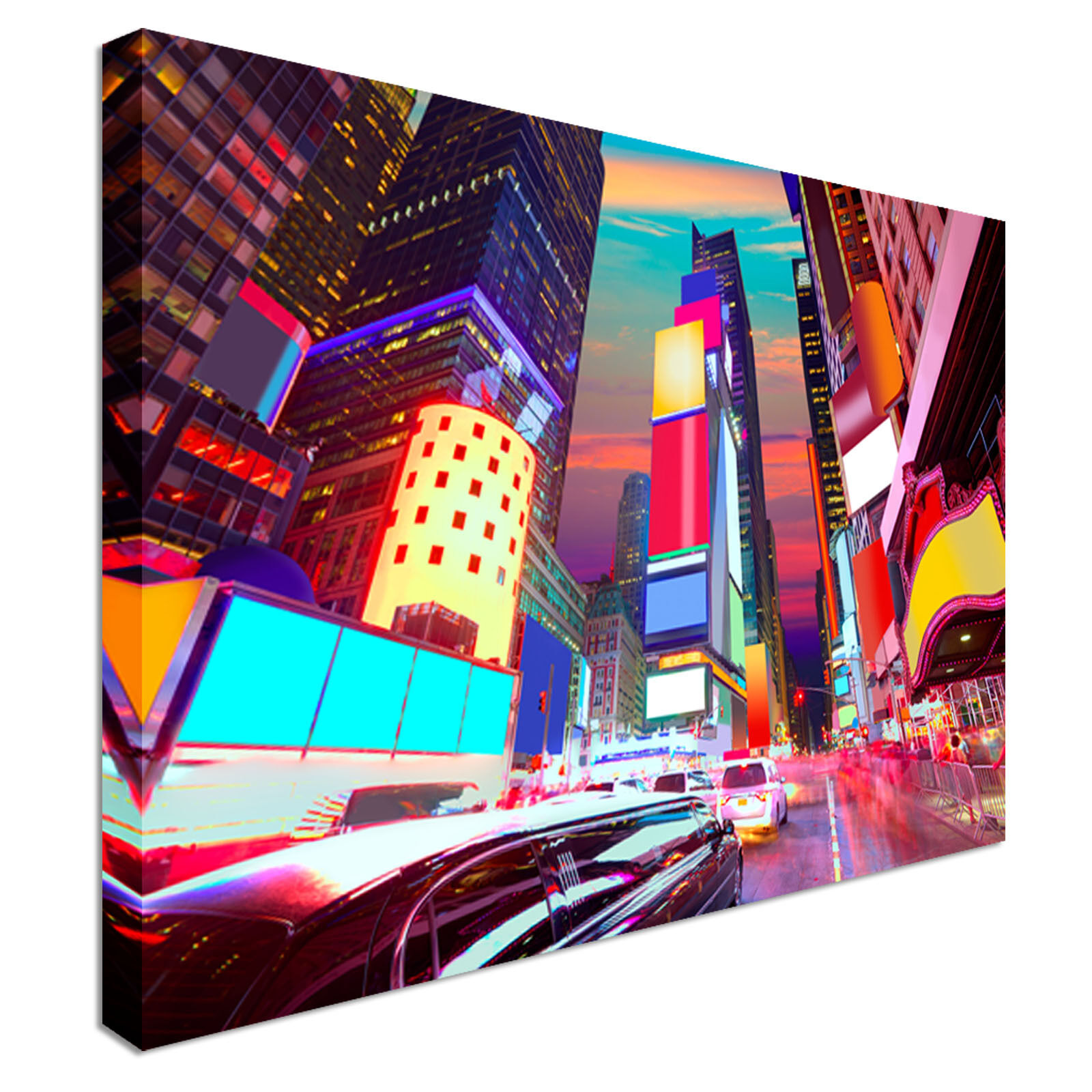 Times Square Night Lights Canvas wall Art prints high quality great value