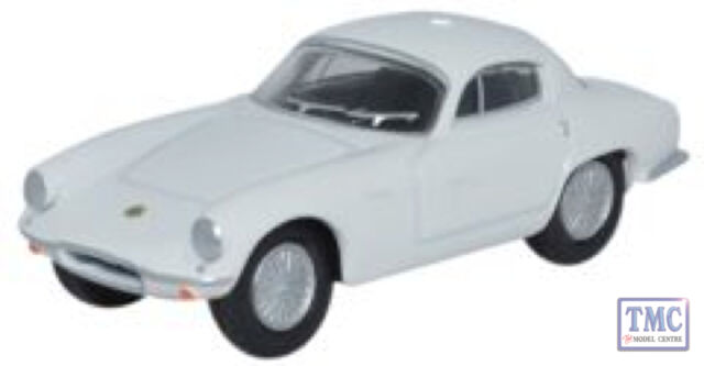 76LTE002 Oxford Diecast Lotus Elite Cirrus White 1/76 Scale OO Gauge