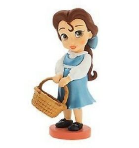 Disney-Beauty-and-The-Beast-Princess-Belle-3-034-Toddler-Baby-Animator-Lose-PVC-Fig