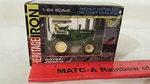 Ertl-Oliver-2255-w-FWA-amp-ROPS-1-64-diecast-farm-tractor-replica-by-SpecCast