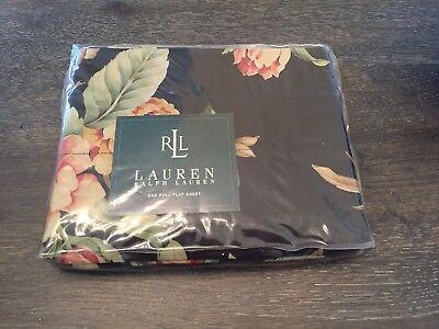 NIP ~ Ralph Lauren Charleston Floral Flat Sheet ~ Reserved