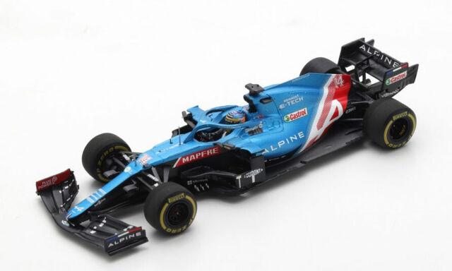 Spark Model 1:43 S7664 ALPINE A521 #14 F.1 GP Bahrain Fernando Alonso NEW