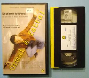 VHS-Film-Ita-Commedia-ORMAI-E-039-FATTA-stefano-accorsi-ex-nolo-no-dvd-cd-lp-V140