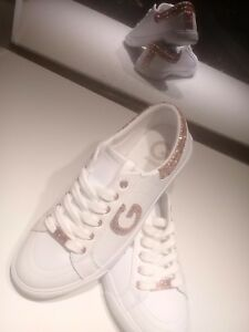 guess sneakers rose gold