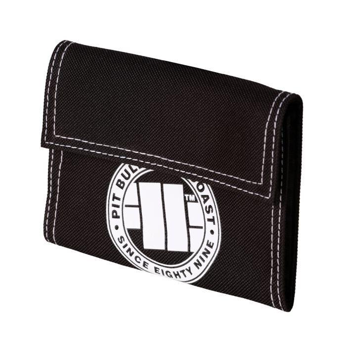 Pit Bull West Coast Wallet Logo Black/White Wallet Pitbull