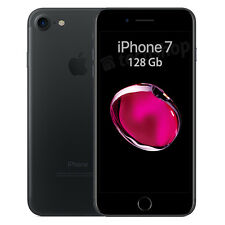 Apple • iPhone Sette • 128Gb Black • GARANZIA 2 ANNI • Nero Opaco 4G LTE NUOVO