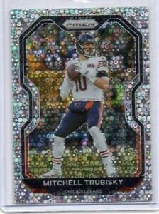 2020 Mitch Trubisky Panini Prizm No Huddle Disco Silver #187 Chicago Bears NFL
