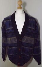 Mens Tejidos of Ecuador Angora Blend Luxury South American Cardigan Size Large