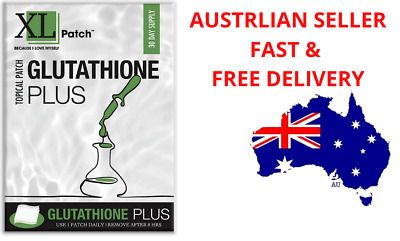 Details about  Glutathione Plus Topical Patch- Antioxidant, Skin Health, Immune Support, Detox