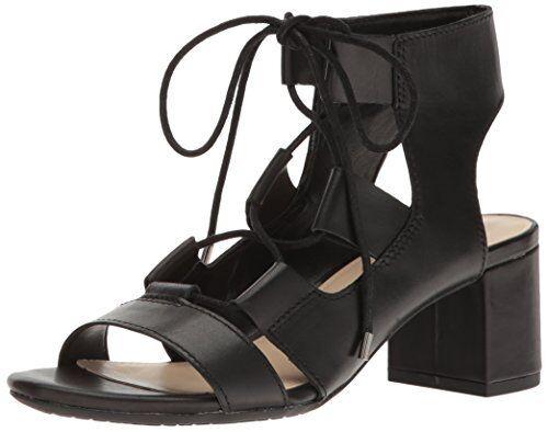 Nine West Para Mujer Vestido De Cuero serrah Sandalia-Pick talla talla talla Color.  precio mas barato
