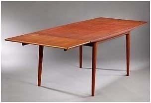 Spisebord, teaktræ, Slagelse Møbelværk