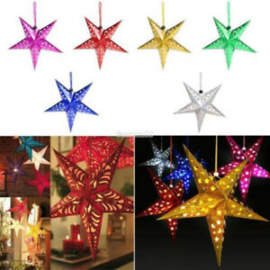 Xmas-String-Hanging-Star-Christmas-Party-Decoration-Christmas-Tree-Ornament-NEW