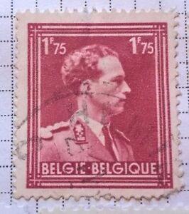 Belgium Stamps King Leopold Iii 1901 1983 1 75 Belgian Franc 1950 Ebay