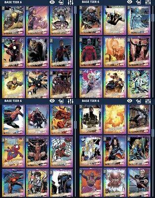 Topps Marvel Collect Digital Rainbow Tier 6  Black Knight