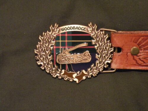 Wood Badge New Belt Buckle