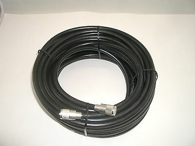WORKMAN 213-12-PL-PL-S 12 FT RG-213 COAX COAXIAL CABLE SILVER PL-259 RG-8 TYPE