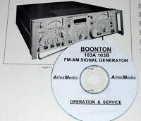 Boonton 103a 103b Instruction Manual (operat & Service)