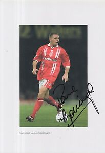 MIDDLESBROUGH-HAND-SIGNED-PAUL-GASCOIGNE-12X8-PHOTO