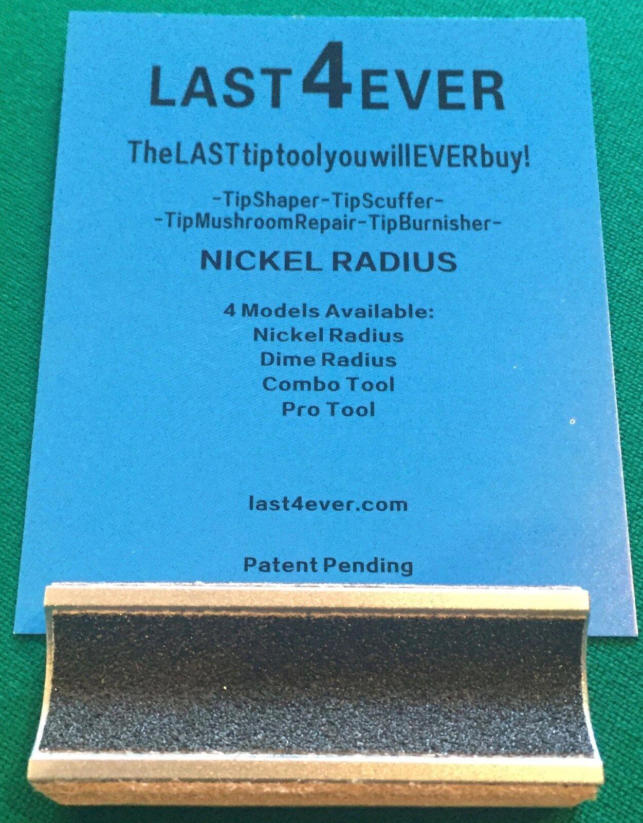 Last4Ever Tip Tool Combo Tool with Dime /& Nickel Radius