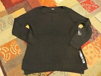 Women's A.n.a Sweaters Red, Green, Or Black Sizes 1x, 2x, & 3x