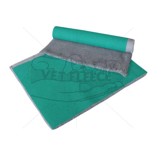 VETFLEECE Dog Bed Greenback Whelping Fleece Pro Bedding GreyFREE Delivery