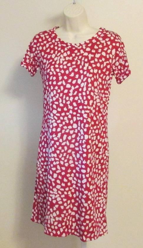 Diane von Furstenberg Beth Leopard Leaves Pink Dhalia 6 dress shift white DVF