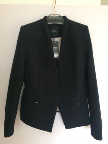 Suit Blazer Next Single Size Black Fit Tailored Breasted Uk Jacket 10 wnERxtErp