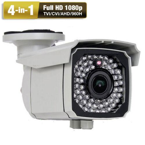 Amview 2.6Megapixel 1080P 66IR Varifocal Lens Security Camera 4-in-1 System 5hj0
