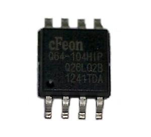 EN25Q64-104HIP EN25Q64 Q64-104HIP Cfeon SOP8 Mbit Serial Flash