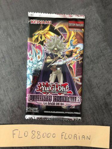 Booster Duellistes Légendaires La rage de RA VF//LED7-FR Yu-Gi-Oh