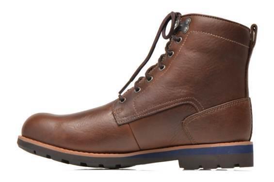 Clarks GTX  Herren Padley Hi GTX Clarks Gore-Tex Braun Leder Casual Stiefel, UK 9½, c18643