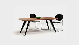 Esstisch 39 oval 39 nordic holz tisch massivholztisch akazie for Tisch nordic design