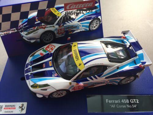 "Carrera Digital 132 30715 FERRARI 458 ITALIA GT2 /""AF CORSE 54/"" LICHT NEU NO"