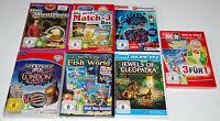 13 Spiele-set - Match-3 / Wimmelbild / Logik - Pc Sammlung - Top-neuware