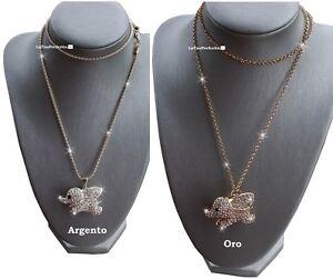 portafortuna-Dolce-Elefantino-Elefante-cristalli-Fashion-Moda-collana-regalo