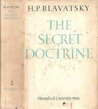 1963 THEOSOPHY H.P. BLAVATSKY SECRET DOCTRINE OCCULT CLASSIC WITH DUST JACKET