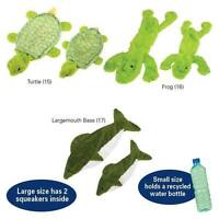Grriggles Lakeshore Unstuffies Puppy Dog Pet Toys Stuffing Free Frog Turtle Bass
