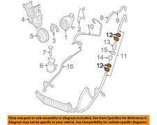 Power Steering Return Hose General Motors 25921081