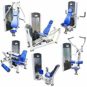 16 Life Fitness Signature Series Full Circuit / 6 Hammer Strenth/ 12 Station