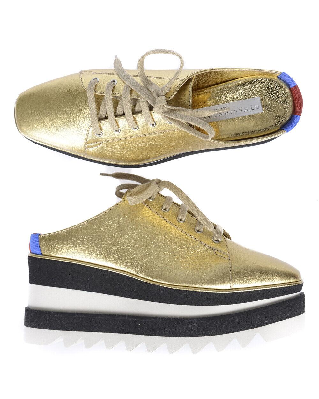 Stella McCartney zapatos 501741w1cw3 zapatillas mujer made in italy oro 501741w1cw3 zapatos 8095 79d48c