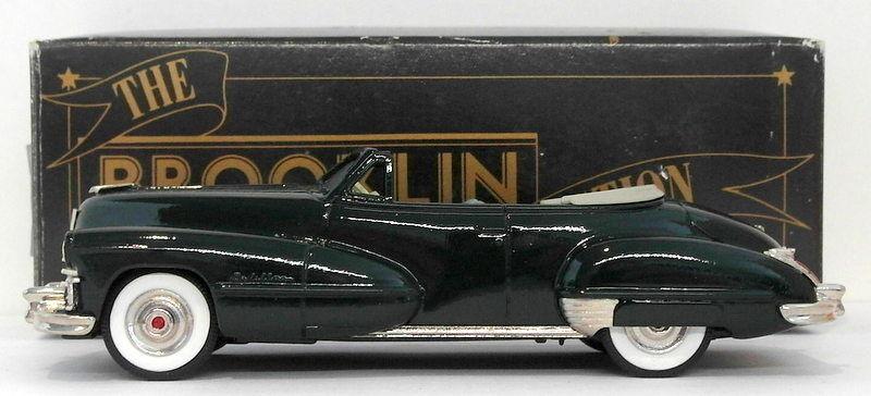 Brooklin maßstab 1  43 brk74 002 - 1947 cadillac dunkelgrün