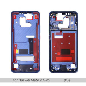 XIAOMIN Middle Frame Bezel Plate with Side Keys for Huawei Mate 20 X Purple Replacement Color : Purple