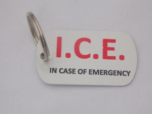 Personalised-ICE-keyring-in-case-of-Emergency