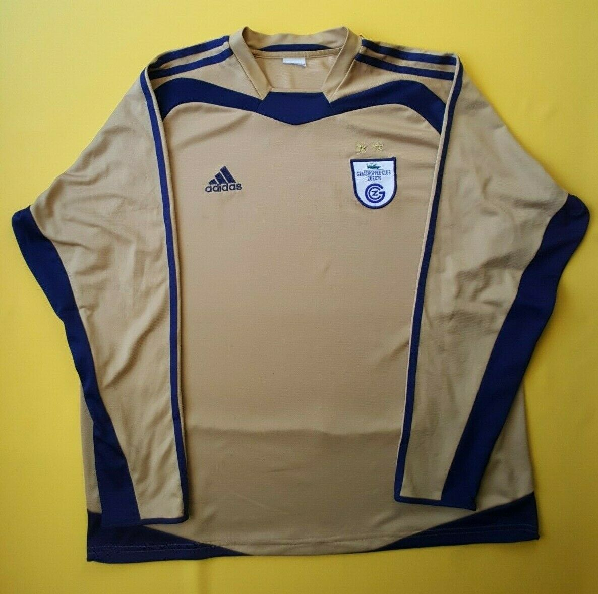5 5 Grasshoppers jersey large 2004 2005 away shirt soccer football Adidas ig93