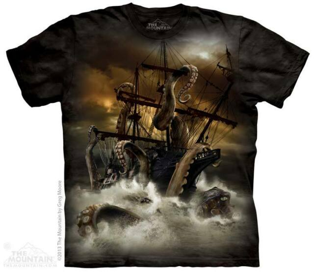 New KRAKEN ATTACK T Shirt