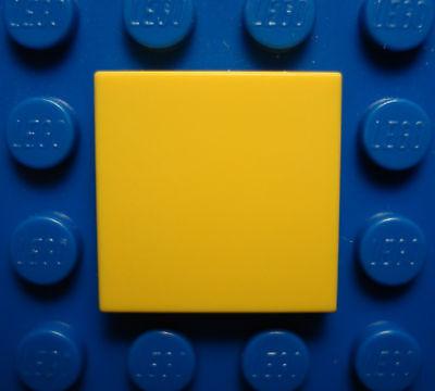 LEGO  LEGOS Set of 20 NEW Tiles 2 x 2 YELLOW   STAR WARS