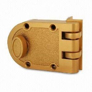 Jimmy Proof Deadbolt Lock Solid Brass Single Cylinder