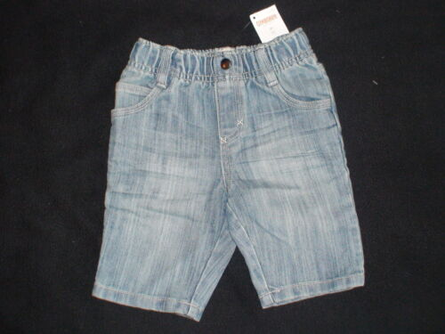 NWT GYMBOREE WHITE WATER BEACH BULLDOG LIGHT DENIM WASH JEAN SHORTS