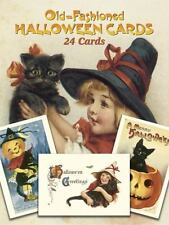 Dover Postcards: Old-Fashioned Halloween Cards : 24 Cards by Oldham (1988, Paperback)